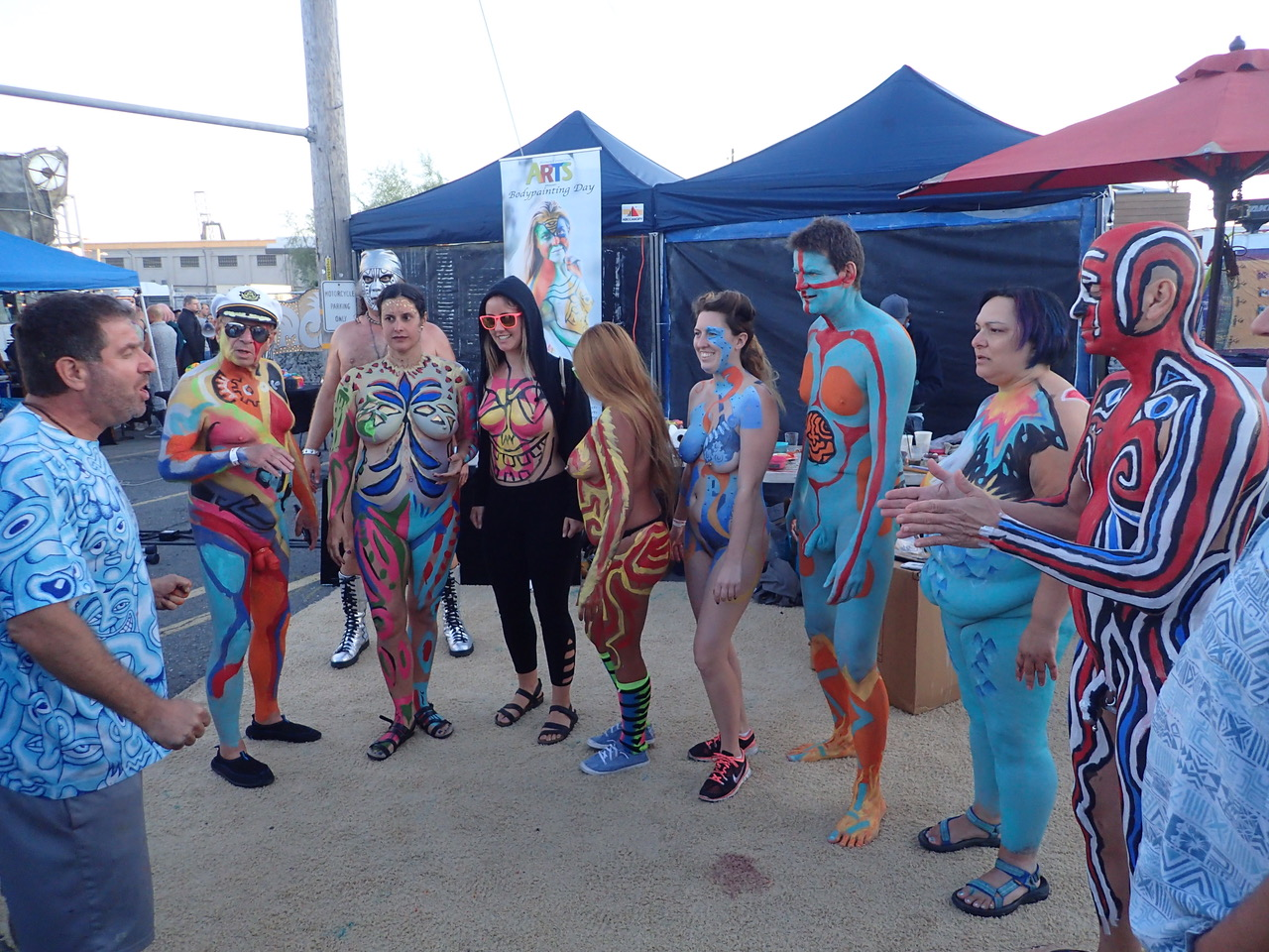 Bodypainting Day 2016: San Francisco & Brussels by Andy