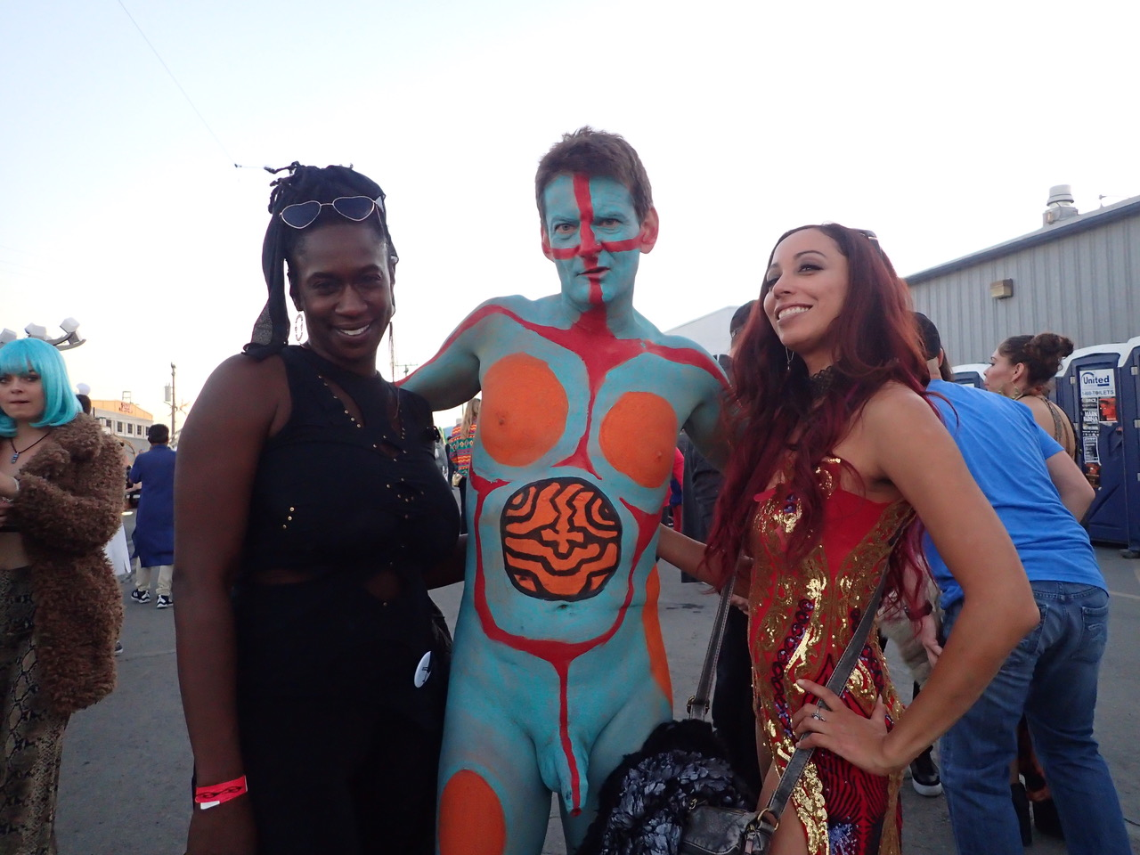 Photos From NYC Body Painting Day 2014